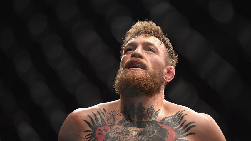 Conor McGregor bei einem Boxkampf im Oktober 2018