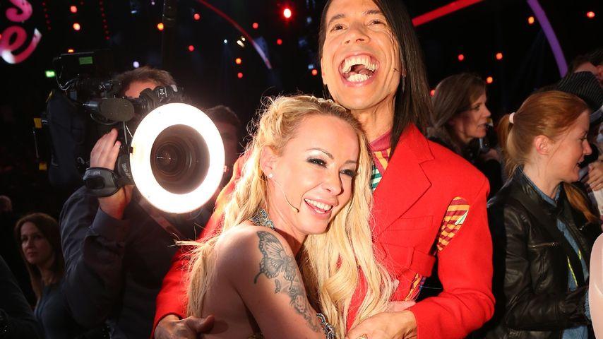 Jorge Gonzalez und Cora Schumacher