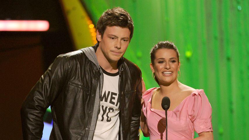 Corey Monteith und Lea Michele