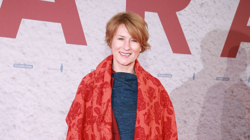 """Corinna Harfouch auf der """"LARA""""-Filmpremiere im Delphi Filmpalast Berlin"""