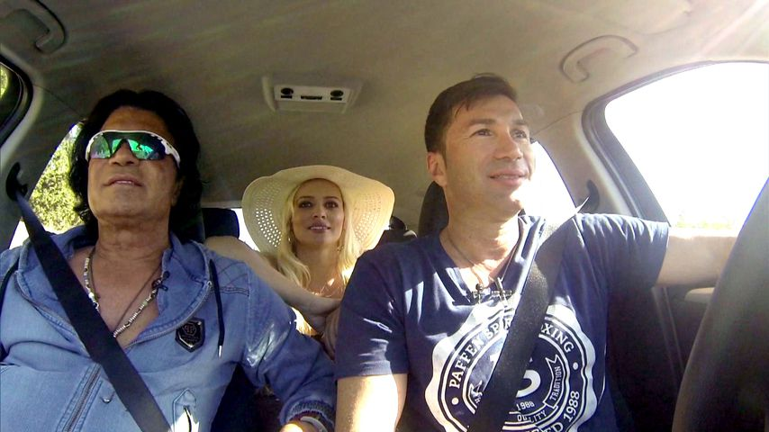 Costa Cordalis, Daniela Katzenberger und Lucas Cordalis