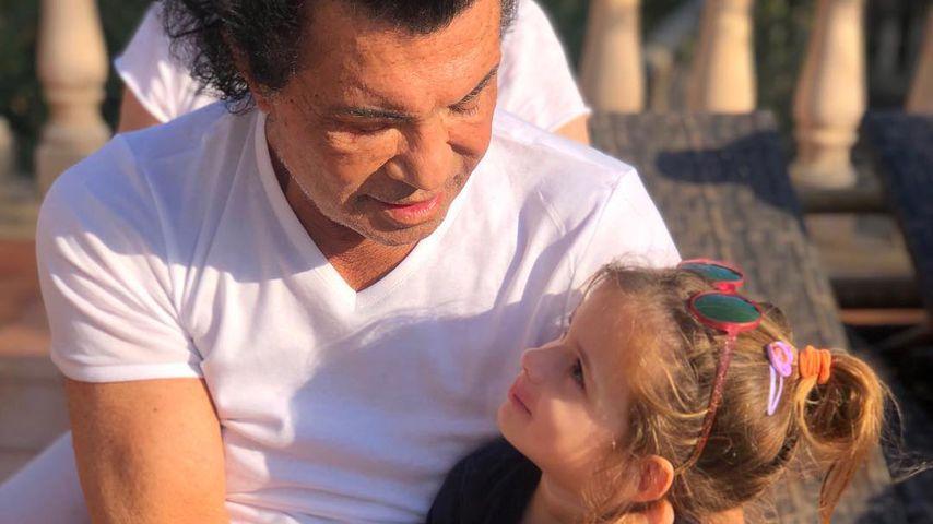 Nach Klinik-Sorgen: Costa Cordalis knuddelt Enkelin Sophia