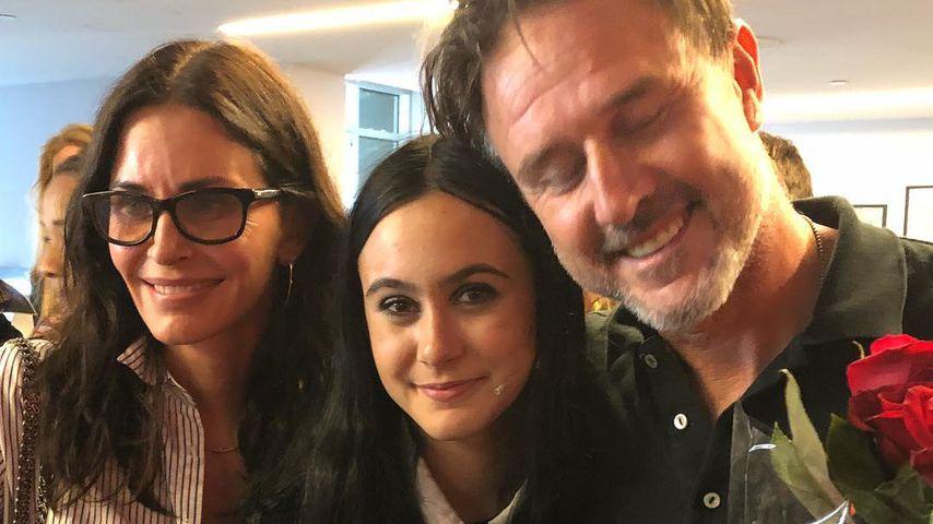 Courteney Cox, Coco Arquette und David Arquette (v.l.)
