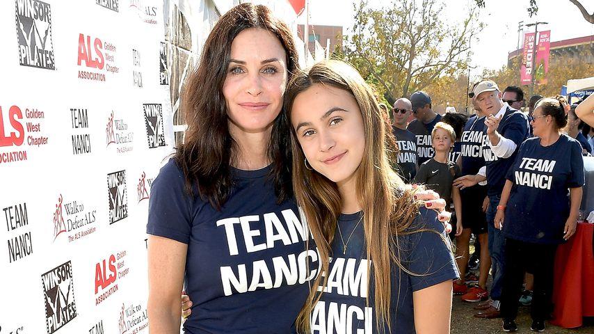 Courteney Cox und ihre Tochter Coco Arquette im Oktober 2017