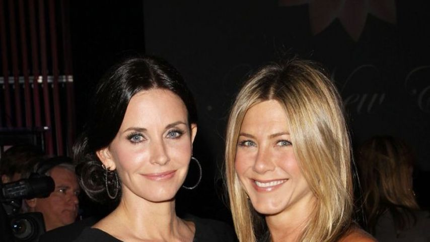 Jennifer Aniston und Courteney Cox