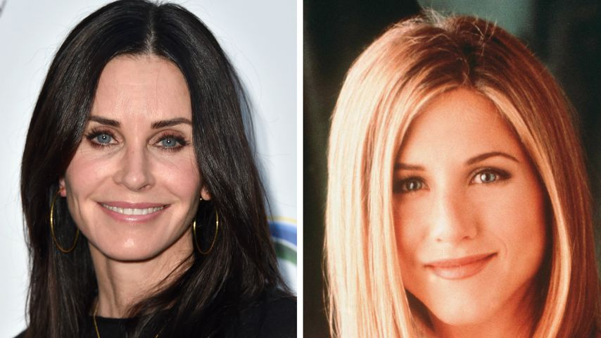 """Courteney Cox und Jennifer Aniston alias Rachel Green (""""Friends"""")"""