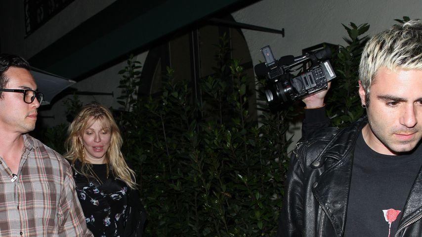 Courtney Love und Henry Levy, Mai 2019