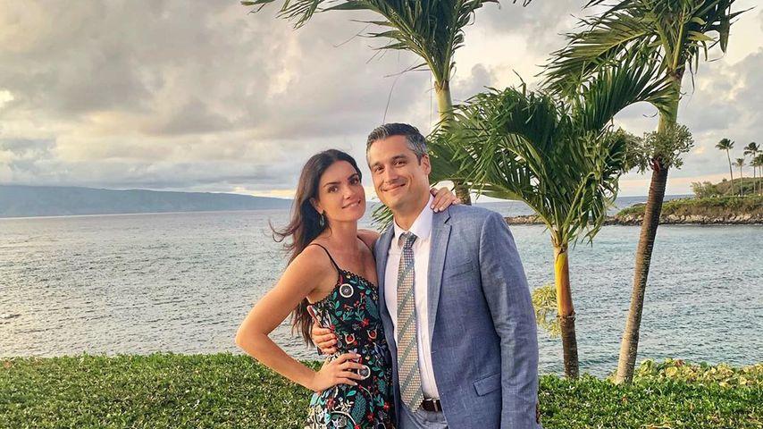 Courtney Robertson und Humberto Preciado im März 2020