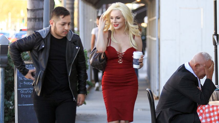 Courtney Stodden und ein Freund in Los Angeles