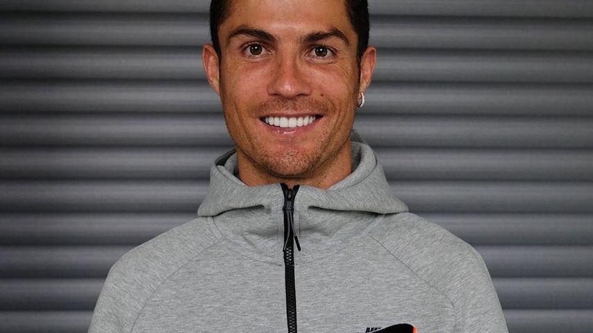 Cristiano mit Nike-Schuh