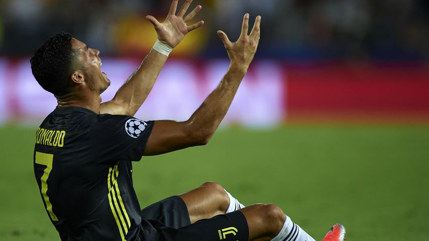 Cristiano Ronaldo im Champions League-Spiel gegen den FC Valencia im September 2018