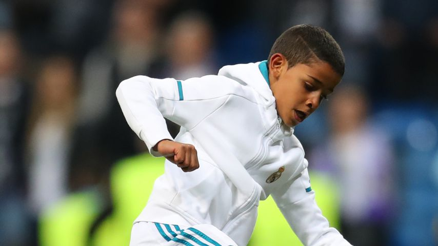 Cristiano Ronaldo Jr. im Mai 2018 in Madrid