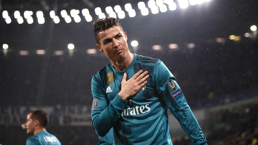 Cristiano Ronaldo im April 2018