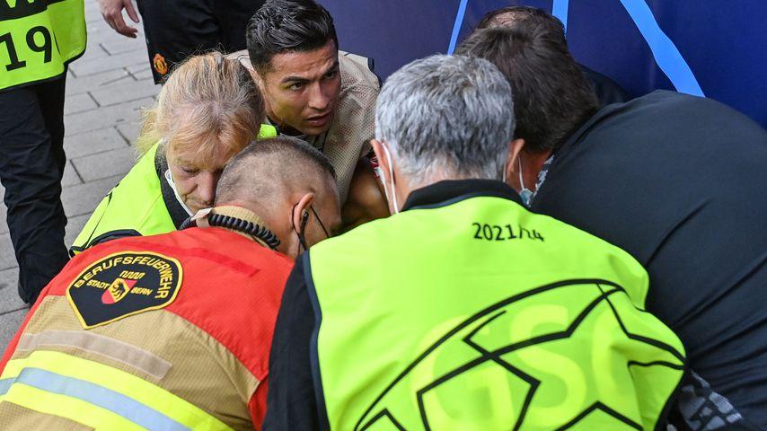 Cristiano Ronaldo, Spieler bei Manchester United