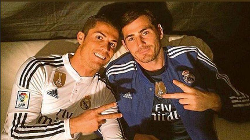 Cristiano Ronaldo und Iker Casillas