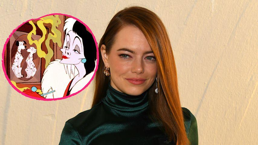 Etwas fehlt! Erstes Bild von Emma Stone als Cruella de Vil