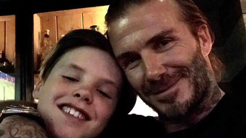 Cruz Beckham mit Papa David