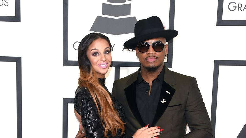 Crystal Smith und Ne-Yo bei den Grammy Awards 2015