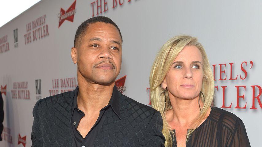 """Cuba Gooding Jr. und Sara Kapfer bei der Premiere von """"The Butler"""""""