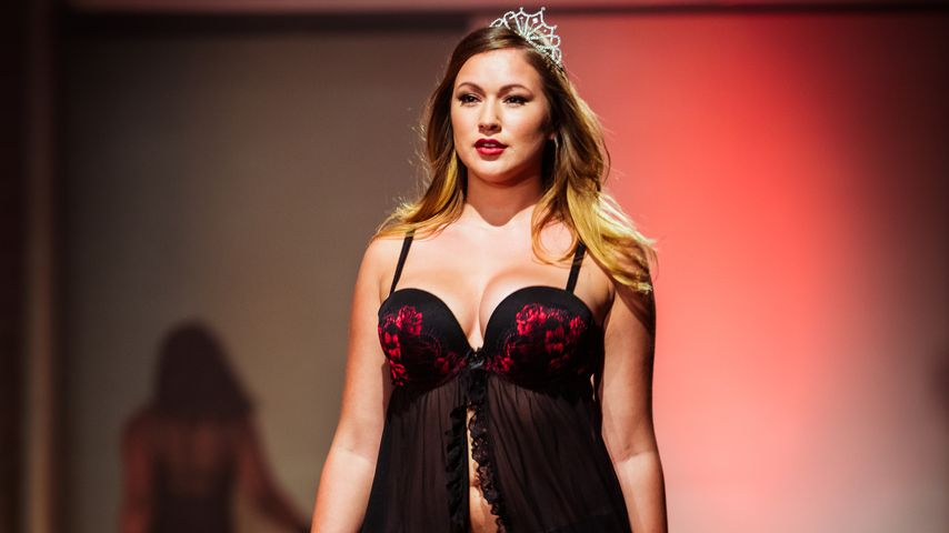 """Gar nicht mehr kurvig: """"Curvy Supermodel""""-Chethrin megadünn!"""