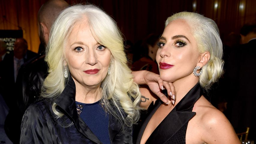 Cynthia Germanotta and Lady Gaga im Januar 2019