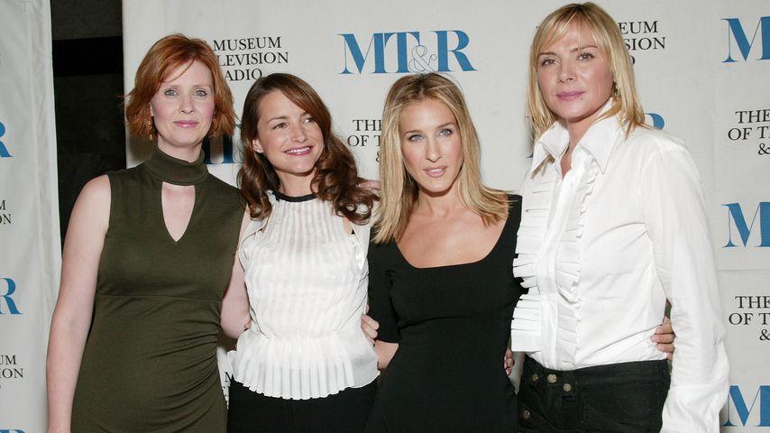 "Cynthia Nixon, Kristin Davis, Sarah Jessica Parker und Kim Cattrall, ""Sex and the City""-Cast"