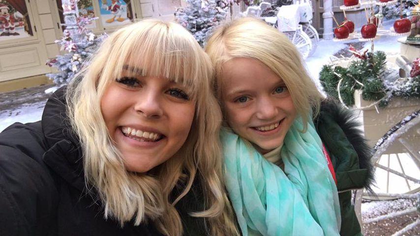 Angriff! Cathy Lugners Tochter (8) eifert Dagi & Bibi nach