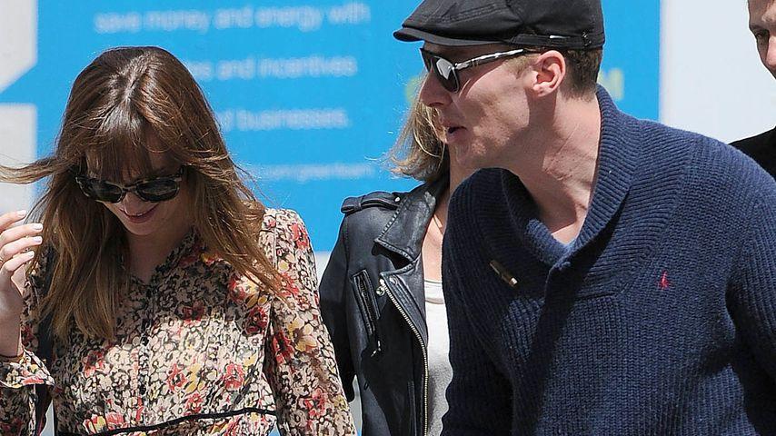 Große Ehre: Dakota Johnson dreht mit Johnny Depp ...