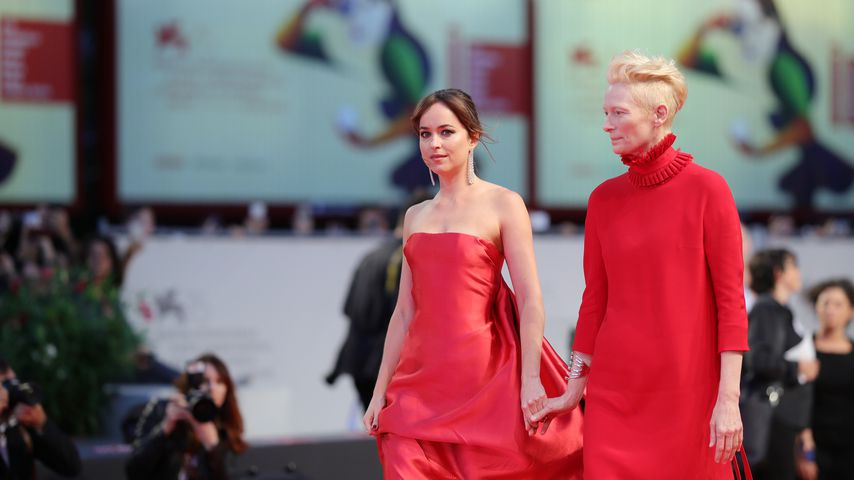 Dakota Johnson und Tilda Swinton beim Filmfestival in Venedig