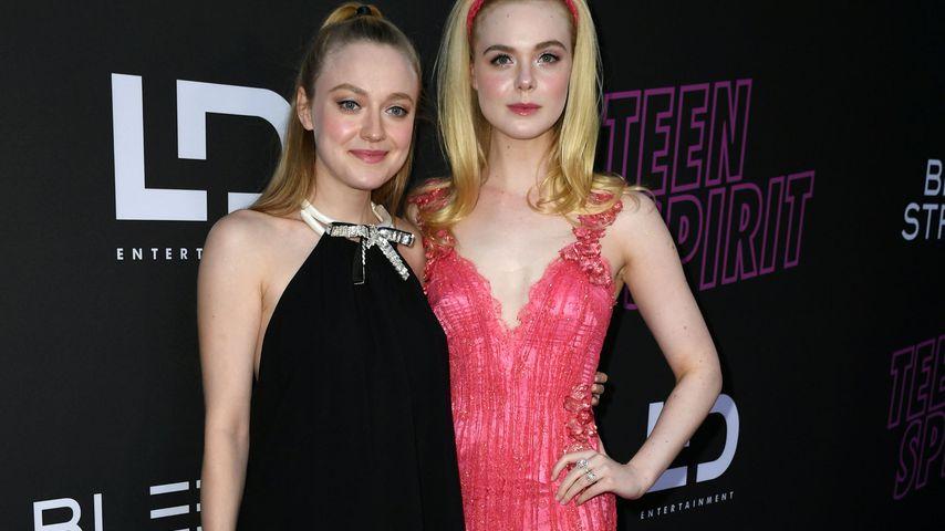 Dakota und Elle Fanning: Dezente Style-Zwillinge