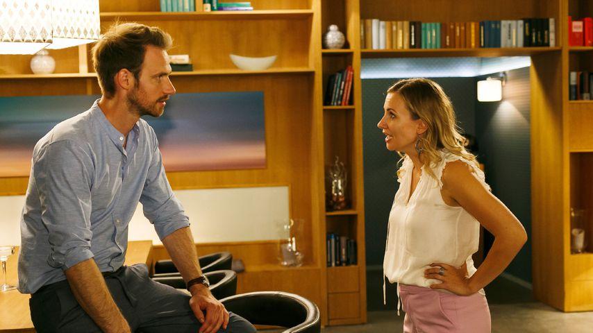 Damian (Christian Feist) und Isabelle (Ania Niedieck) streiten