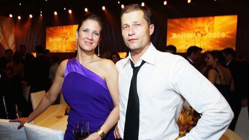 Til und Dana Schweiger feiern noch zusammen Weihnachten