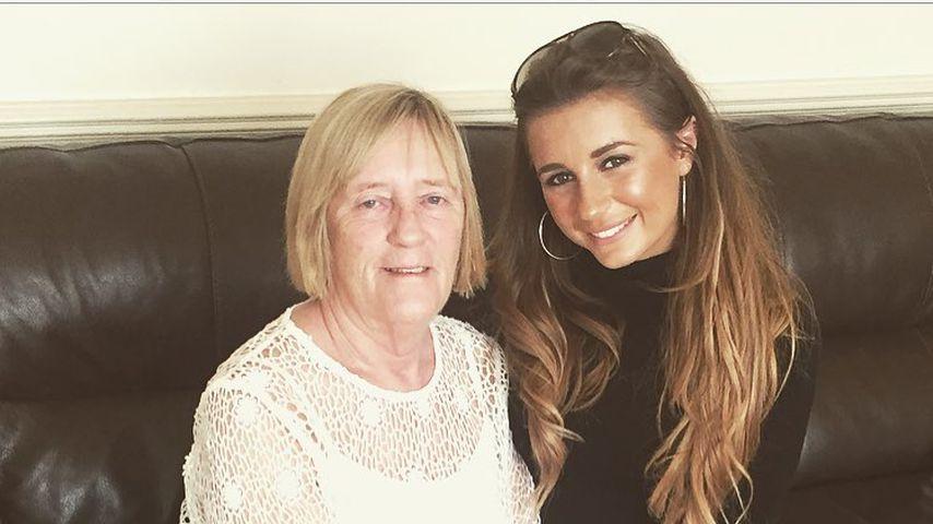 Dani Dyer mit ihrer Großmutter Chris