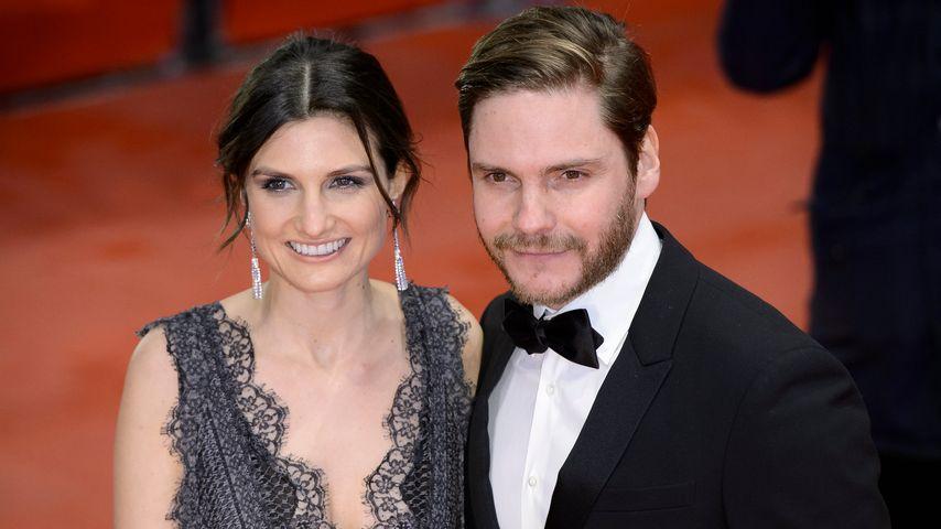 Felicitas Rombold und Daniel Brühl bei der Berlinale 2016
