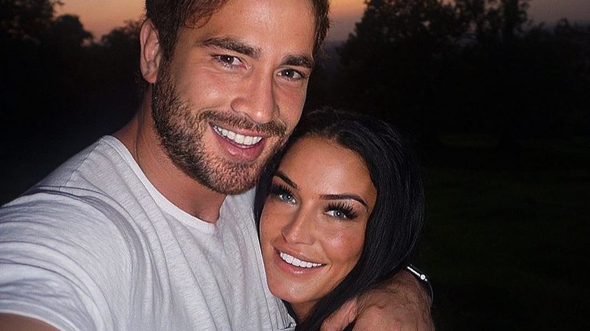 Daniel Cipriani y Victoria Rose en octubre de 2020