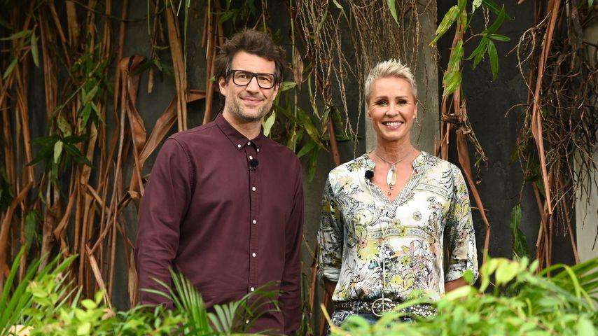 Daniel Hartwich und Sonja Zietlow an Tag 5 im Dschungelcamp, 2020