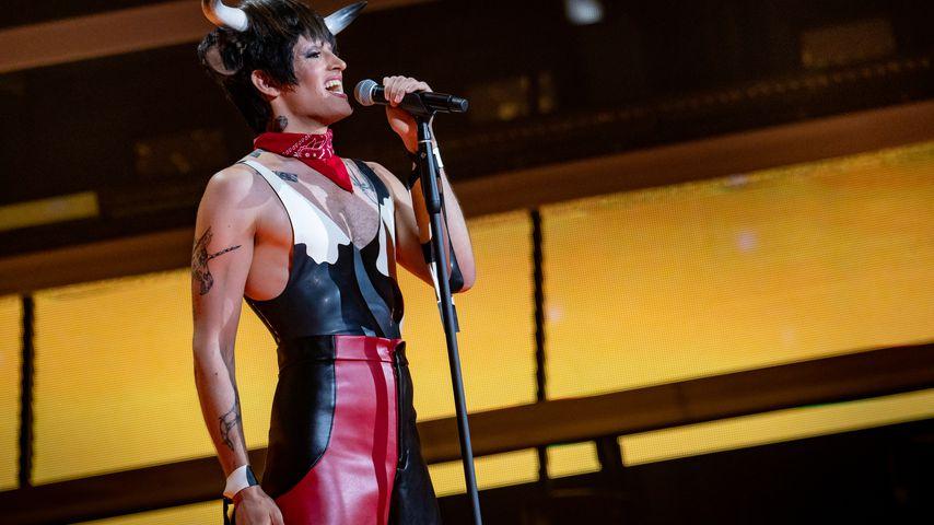 """Mit Botschaft: """"The Voice""""-Kandidat performt im Kuh-Kostüm"""