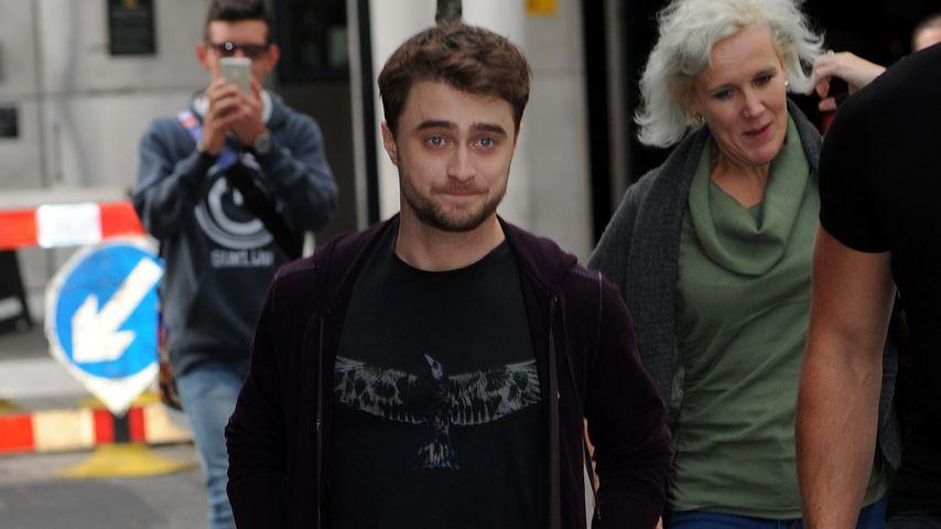 Daniel Radcliffe außerhalb der BBC Studios
