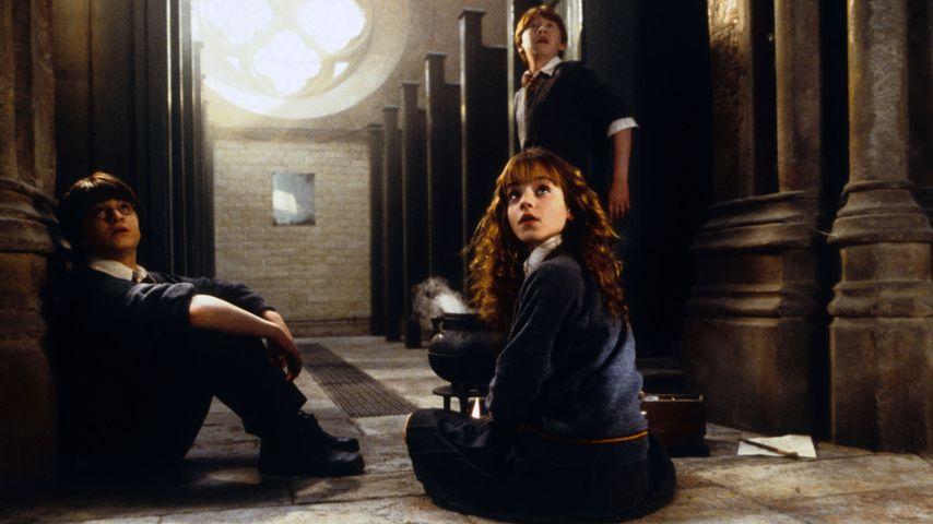 """Daniel Radcliffe, Emma Watson und Rupert Grint in """"Harry Potter und die Kammer des Schreckens"""""""