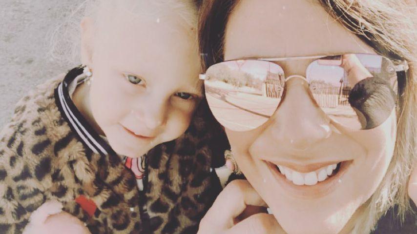 Daniela Büchner mit den Zwillingen Jenna Soraya und Diego Armani 2019