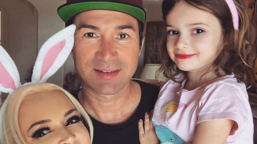 Daniela Katzenberger, Lucas und Sophia Cordalis an Ostern 2020