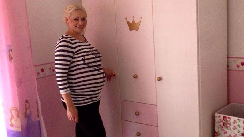 Wie die Zeit vergeht: Daniela postet Schwangerschafts-Foto