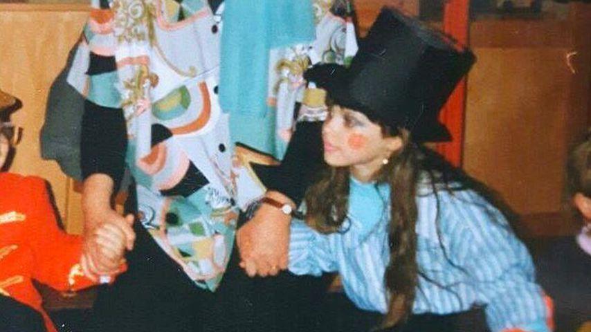 Daniela Katzenberger mit sechs Jahren
