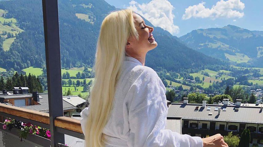 Daniela Katzenberger in Kitzbühel im Jahr 2020
