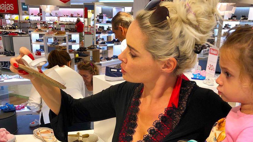 Wie Mama Dani: Sophia Cordalis anstrengend beim Shoppen!