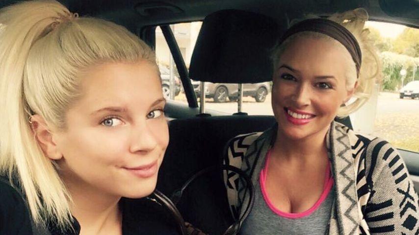 Daniela Katzenberger: Wellness-Tag mit ihrer Schwester