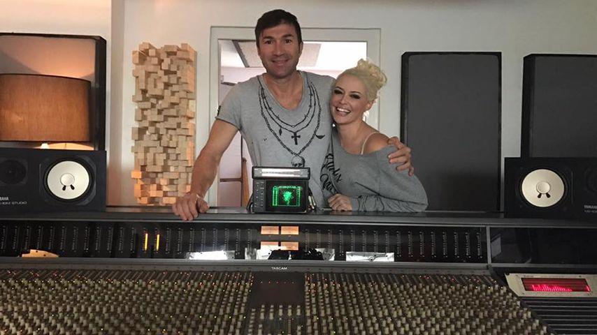 Im Studio: Kommt jetzt ein Weihnachtssong von Lucas & Dani?