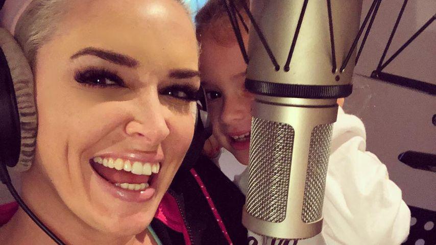 Dani Katzenberger und Tochter Sophia nehmen Musik auf!