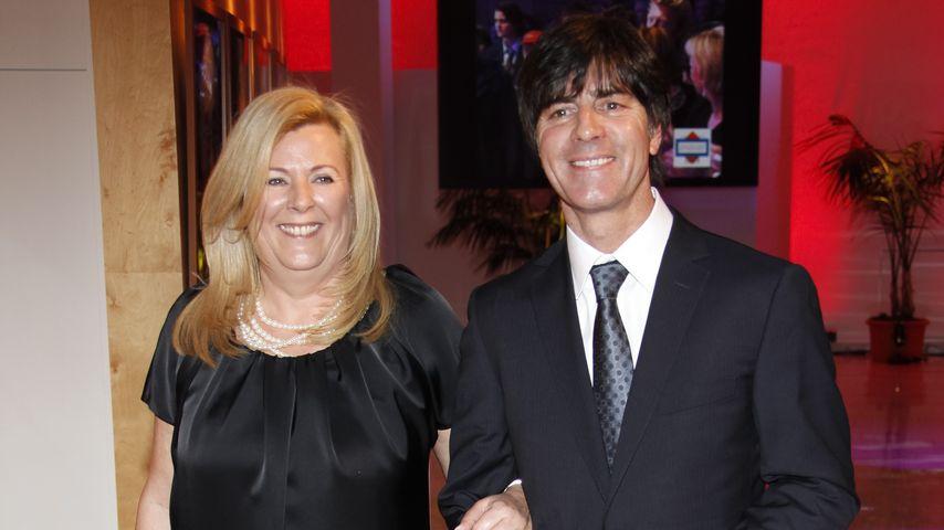 Daniela und Joachim Löw im Jahr 2011