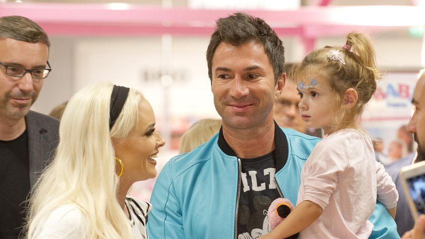 Daniela Katzenberger, Lucas Cordalis und Tochter Sophia